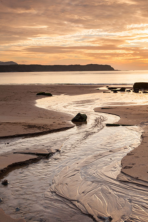 Five Fingers strand evening, Inishowen, Co Donegal