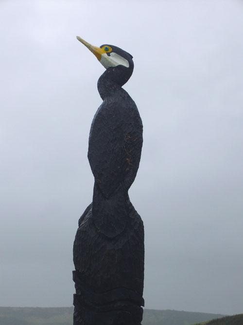 Cormorant Totem