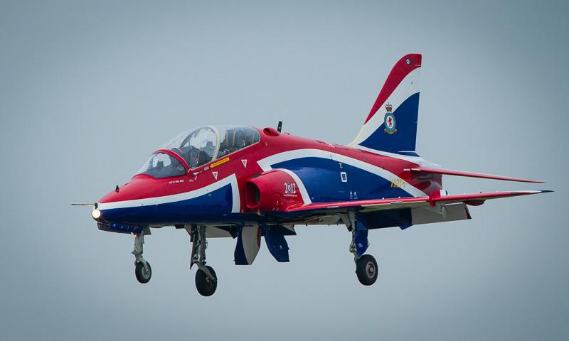 Red Arrow Hawk T-Mk1 Jet Trainer