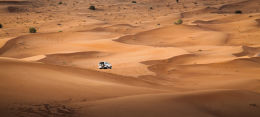 Sand Dune Expedition in Toyota Landcruiser
