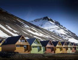 Longyearbrean, Spitsbergen