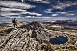 Cader Idris looking towards Llyn y Gaddir