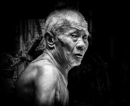 Old man of China