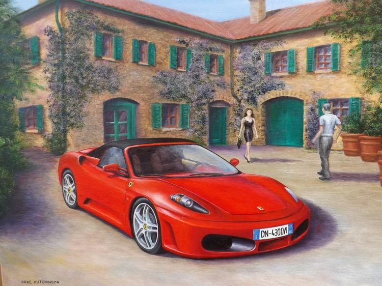 Ferrari F430 Courtyard