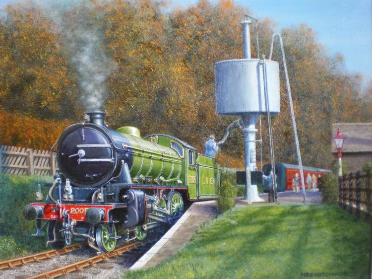 K1 at Oxenhope KWVR