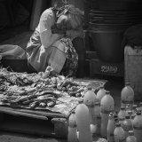 Market trader, Gambia