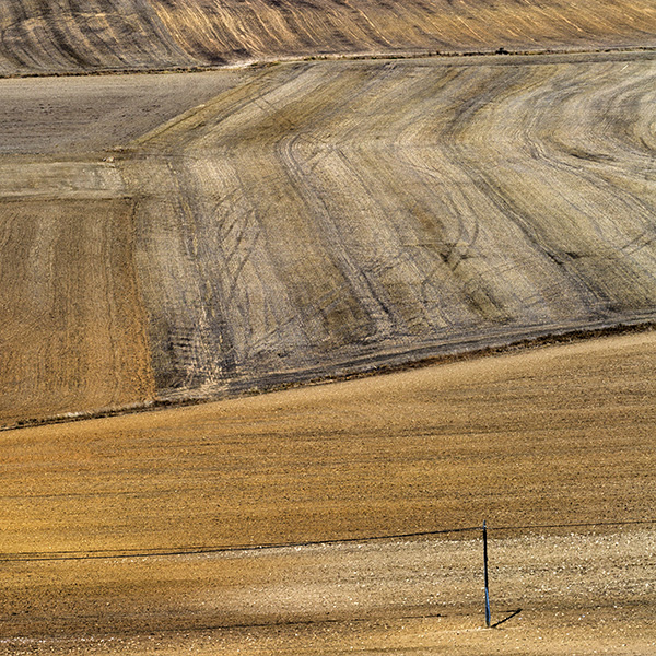 Ploughed fields, North Spain