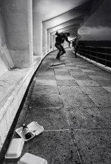 Skateboarders, Plymouth Hoe