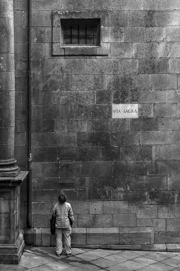Street scene, Santiago de Compostela 2