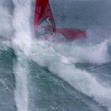 Windsurfer, multiple exposure