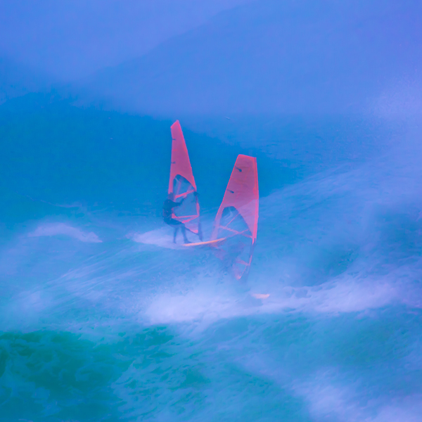 Windsurfer, multiple exposure 2