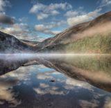 Mist rising Glendalough