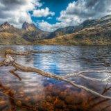 Dove Lake Cradle Mountain. Tasmania.