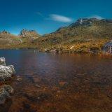 Dove Lake Boathouse. Tasmania.