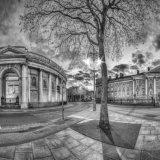 Dublin Cityscape Trinity. Ireland.