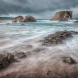 Elephant Rock. Balintoy. Antrim Coast. Ireland.
