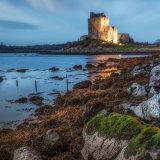 Dunguaire Castle. Evening light.  Kinvara. Galway. Ireland.