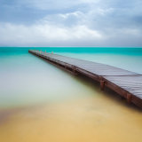 """Into the blue""  Colliers dock.  Grand Cayman."