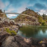 Cataract Gorge Reserve. Launceston. Tasmania.