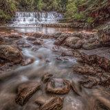 Waterfall.  Tasmania.
