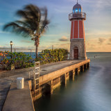 Barcadere Lighthouse.  Grand Cayman
