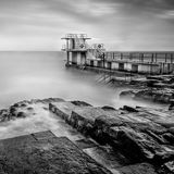 Blackrock Swimming tower. Salthill. Galway. Ireland.
