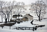 Bull Pot Farm - Winter by John Conway - WC
