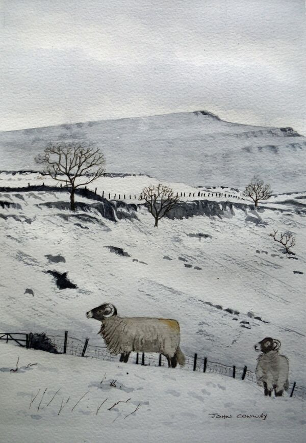 Above Souther Scales - Chapel-le-Dale by John Conway