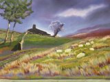 "Ruth Gamsby - ""Approaching Storm"" - Pastel"