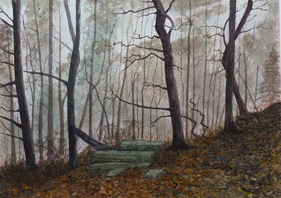 Autumn Wood by John Conway - WC