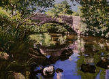 Barth Bridge Dent by Helen Shields - Pastel