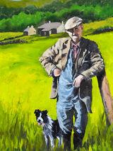 Dale Shepherd by Brian Alderman - Oil