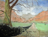On the way to Langdale by Val Finch - Pastel