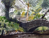 Pack Horse Bridge Clapham by John Conway - WC