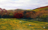 Pepperpot View by Mike Morrison - Pastel