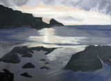 Seascape by Val Finch - Pastel
