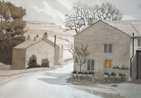 Selside - Ribblesdale - North Yorkshire by John Conway (WC)