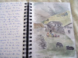 Sketches from Annapurna Region 1 - Cherie Chapman