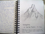 Sketches from Annapurna Region 3 - Cherie Chapman