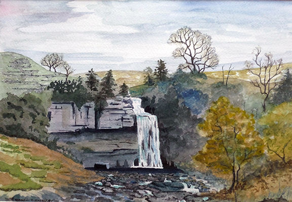 Thornton Force - Ingleton by John Conway - WC