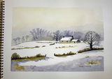 Winter Landscape by John Conway - WC