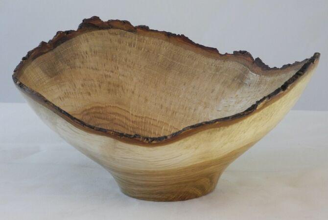 #281 oak wavy edge
