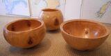 #Large Monkey Puzzle fruit bowls