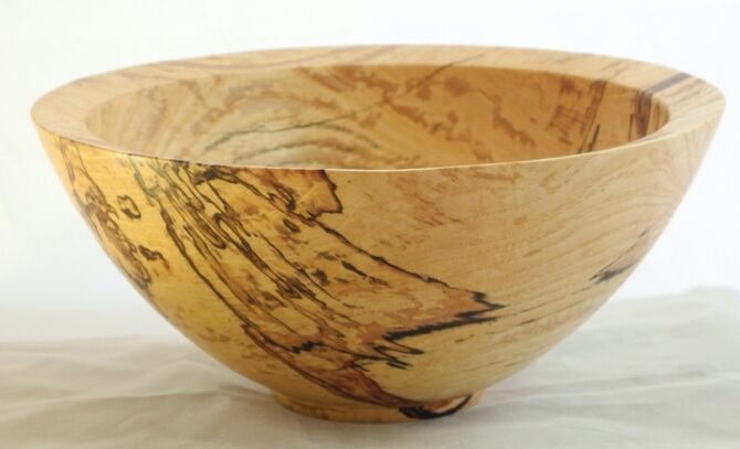 b #299 spalted ash