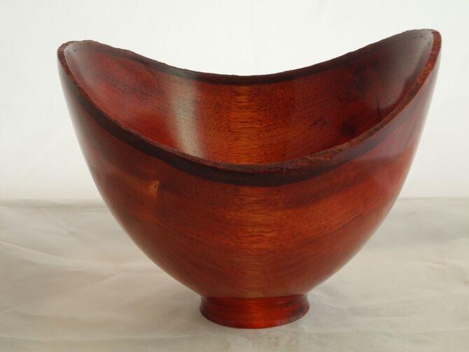 b #306 walnut dyed red