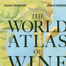 Cover illustration for The World Atlas of Wine