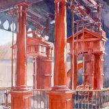 Monumental steam engine