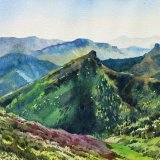 Spring morning Cantabria Spain