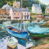 Boats, Pont Aven Brittany
