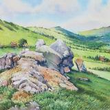 The hills shall rejoice - Stretton hills, Shropshire